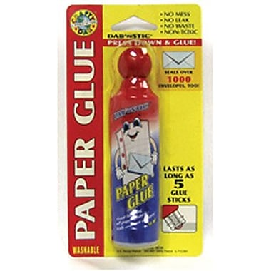 Crafty Dab Paper and Envelope Glue 1.7 oz., 10/Bundle