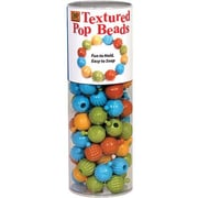 Pencil Grip Textured Pop Beads, 100/Pack (DBD965)