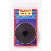 "Dowling Magnets 735005 1"" x 10' Magnet Strip Roll With Adhesive"