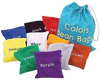 Educational Insights Bean Bags, Colors