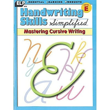 Essential Learning Handwriting Skills Simplified - Mastering Cursive Writing Book (ELP0229)