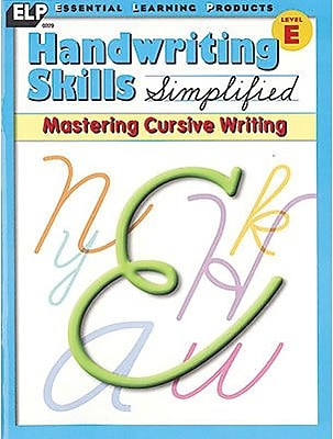Handwriting Skills Simplified, Mastering Cursive Writing Gr 5