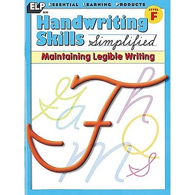 Essential Learning Products™ Handwriting Skills Simplified Maintaining Legible Writing Book (ELP0230)