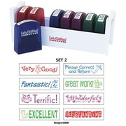 Early Childhood ResourcesELR0361 Self-Inking Teacher Stamps With Stand