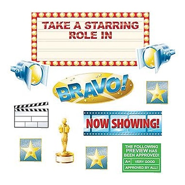Edupress Bulletin Board Set, Take A Starring Role, 43/Pack (EP-2278)