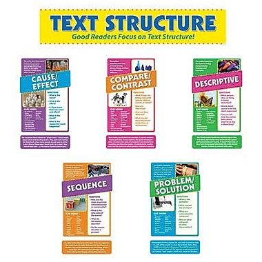 Edupress® Bulletin Board Set, Focus On Text Structure
