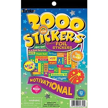 Eureka 2000 Motivational Sticker Book (EU-609411)