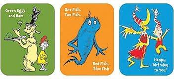 Eureka Stickers, Dr. Seuss Favorite Books (EU-650022)