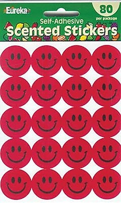 Eureka® Stickers, Scented Smiles