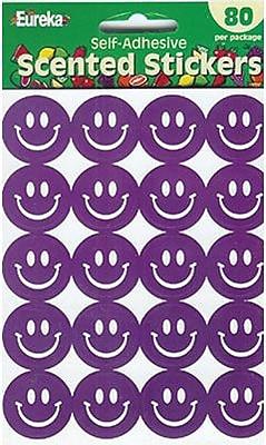 Eureka® Stickers, Scented Smiles Grape