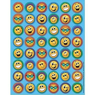 Eureka Mini Stickers, Emoticons, 2304/Pack (EU-656893)