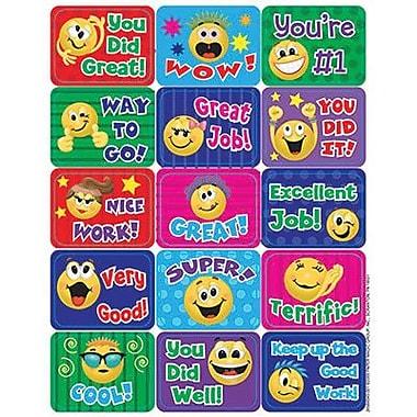 Eureka Stickers, Emoticons Success, 1440/Pack (EU-658404)