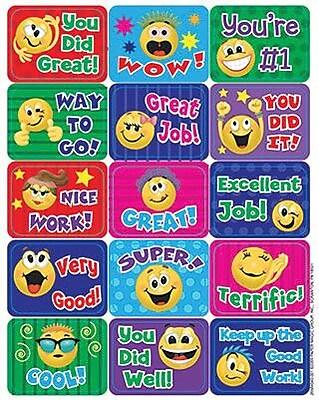 Eureka® Stickers, Emoticons Success