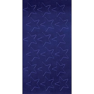 Eureka Stars Stickers, Blue Foil, 1/2