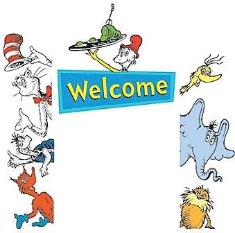 Dr. Seuss Cat in the Hat Go Around Accents