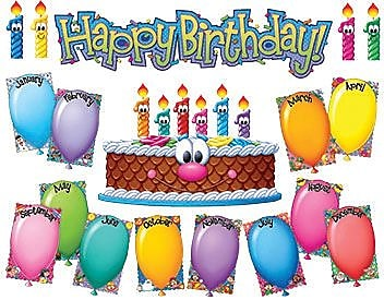 Eureka® Bulletin Board Set, Birthday Kit (EU-847081)