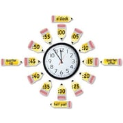Eureka® Bulletin Board Set, Telling Time