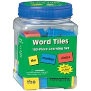 Eureka® Word Tiles Learning Set, 160/PK, 2 PK/BD