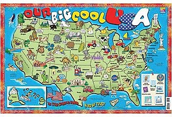 Staples Us Map - Big map of us poster