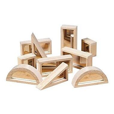 Guidecraft® Mirror Block Set, 10.Pack (GD-3017)