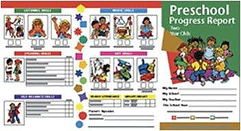 Hayes School Progress Notes, 2-Year Olds