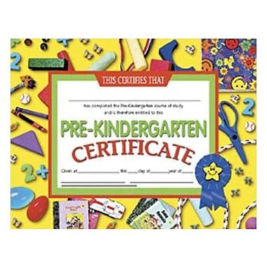 Hayes® Pre-kindergarten Certificate, 8.5