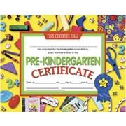 """Hayes Pre-kindergarten Certificate, 8.5"""" X 11"""", 90/Pack (H-VA600)"""