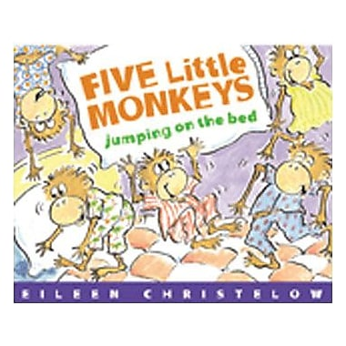 Houghton Mifflin Harcourt® Five Little Monkeys Jumping on The Bed Big Book (HO-0618836829)