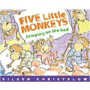 Houghton Mifflin® Five Little Monkeys Jumping on The Bed Big (Hardcover) Book