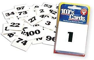 Hygloss® Number Flash Card, 1-100, Grades Kindergarten to 7th Grade (HYG61491)