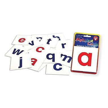 Hygloss® A-Z Lowercase Alphabet Letters Flash Card