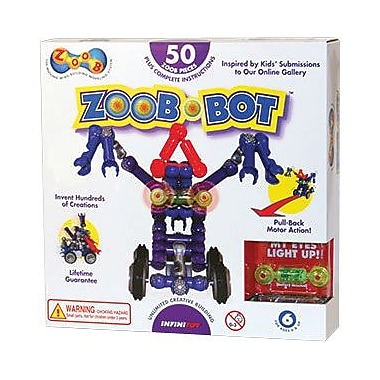 Infinitoy® ZOOB® Zoob-Bot Creative Toy