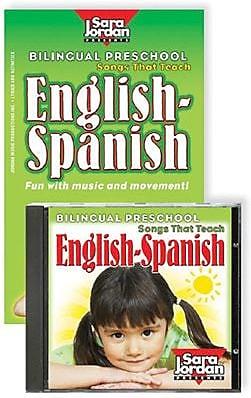Bilingual Preschool English/Spanish Book & CD Set