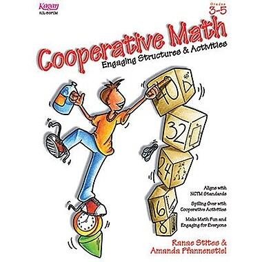 Kagan Publishing Cooperative Math Book, Grades 3rd - 5th
