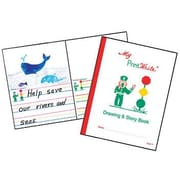 "Kurtz Bros Inc 11"" x 8 1/2"" print write® Drawing & Storybook"