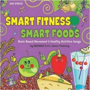 Smart Fitness, Smart Foods Book with CD (KIM9198CD)