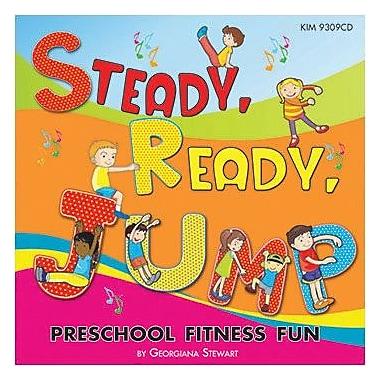 Kimbo Educational Steady Ready Jump CD (KIM9309CD)