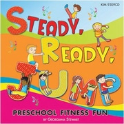 Kimbo Educational® Steady Ready Jump CD