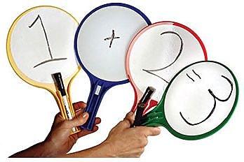 Kleenslate Concepts® Kwik Chek II Paddles, 2/PK, 2 PK/BD