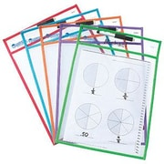 """Learning Resources® Write and Wipe Pockets, 14""""(H) x 10""""(L)"""