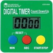 Learning Resources LER4339 Digital Timer, Green, 2/Pack (LER4339)
