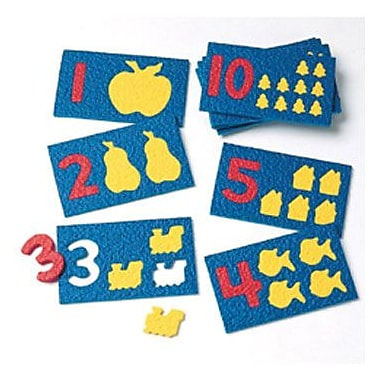 Lauri Toys Number Play, Grade Toddler - 1, 10/Pack (LR-2414)