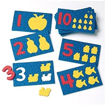 Lauri® Number Play, 10/Pk