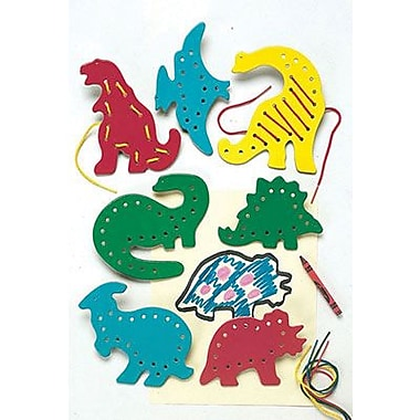 Lauri® Toys Lacing and Tracing Dinosuars