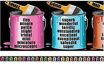 McDonald Publishing Chalkboard Toppers, Brighten Your Vocabulary