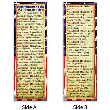 McDonald Publishing Smart Bookmarks, Constitutional Amendments