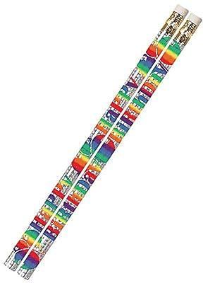 Musgrave® Birthday Blitz Incentive Pencil, Dozen