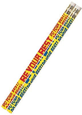 Musgrave Incentive Pencils, Do Your Best Be Your Best