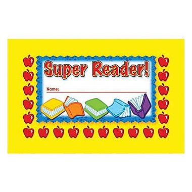 North Star Teacher Resources® Punch Card, Super Reader