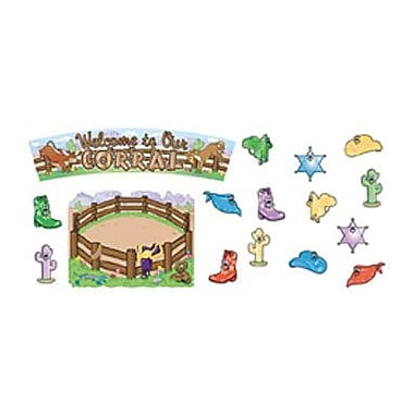 North Star Teacher Resources® Bulletin Board Set, Welcome To Our Corral